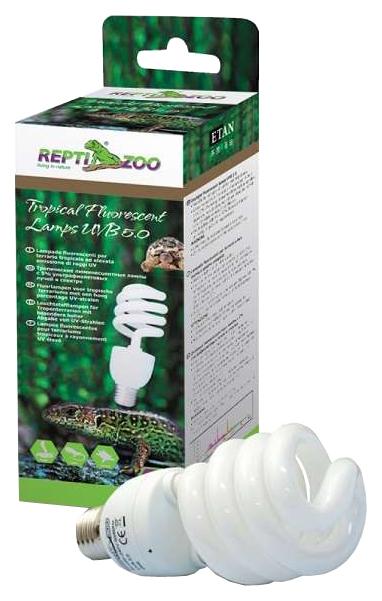 Ультрафиолетовая лампа для террариума Repti Zoo Compact