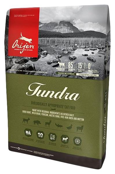 Сухой корм для кошек Orijen Tundra дичь 034кг.
