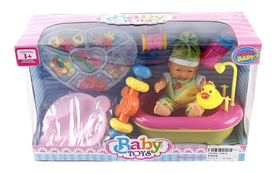 Пупс Shantou Gepai Lovely Baby YD832