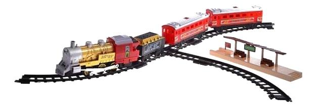 Купить Мой поезд, Железная дорога мой поезд свет звук пускает дым Play Smart 610, PLAYSMART, Детские железные дороги