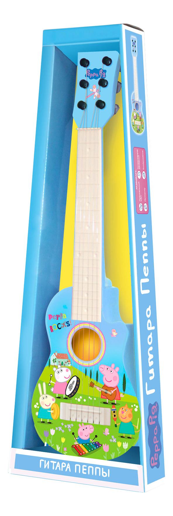 Гитара игрушечная Intertoy Гитара Пеппы фото