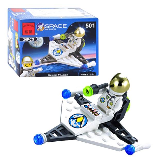 Конструктор пластиковый Brick Межпланетный самолет