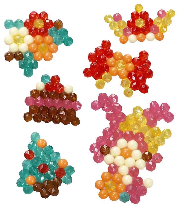 Набор для творчества Aquabeads Сверкающие игрушки из бусин 31168 фото