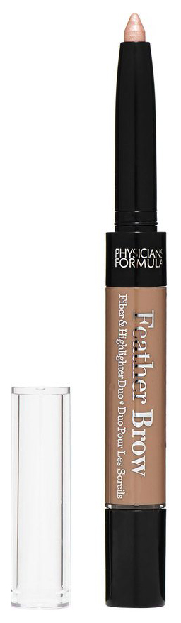 PHYSICIANS FORMULA EYE BOOSTER LASH FEATHER BROW FIBER #AND# HIGHLIGHTER DUO  фото