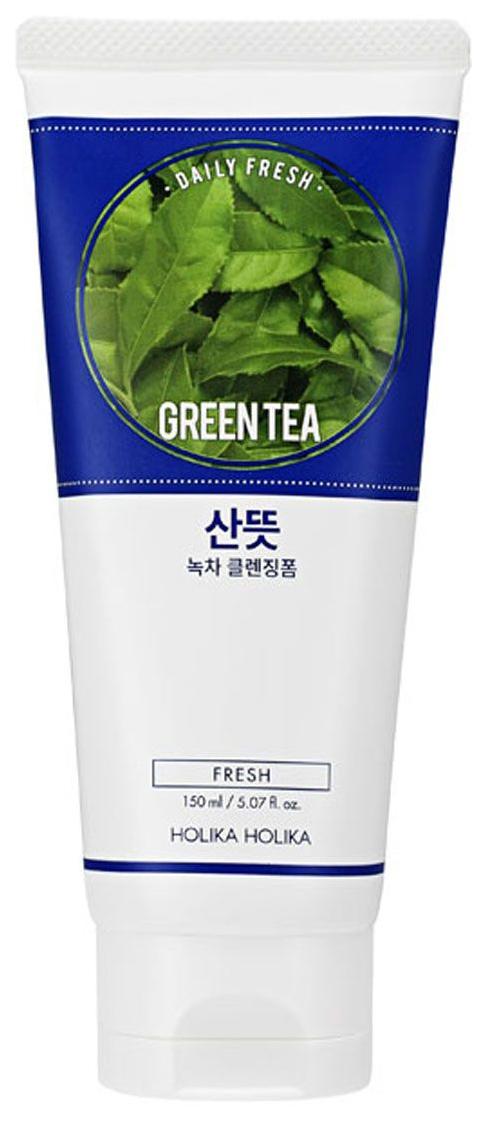 Пенка для умывания Holika Holika Daily Fresh Зеленый