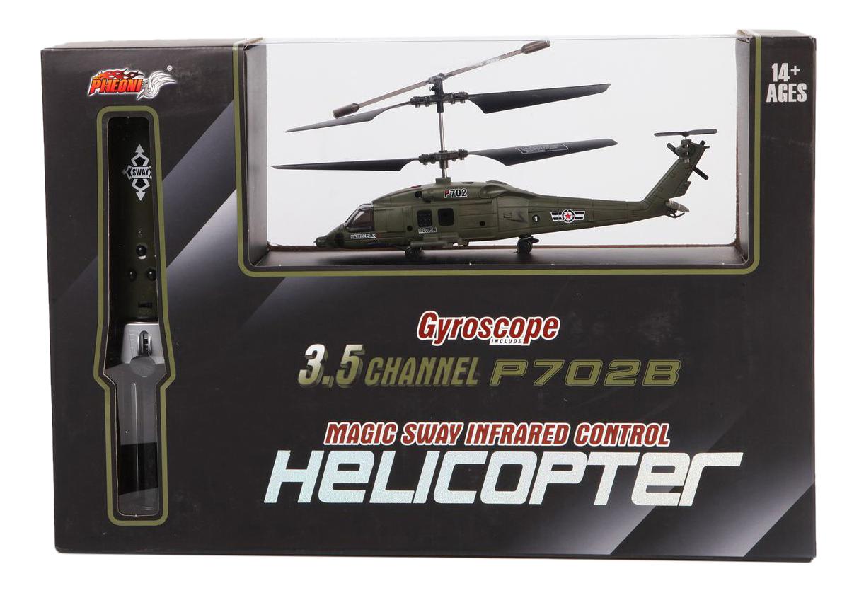 Вертолет радиоуправляемый с гироскопом Bondibon М42375, P702B  - купить со скидкой