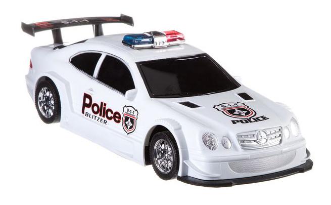 Машинка инерционная Полиция Gratwest Gratwest В79470 фото