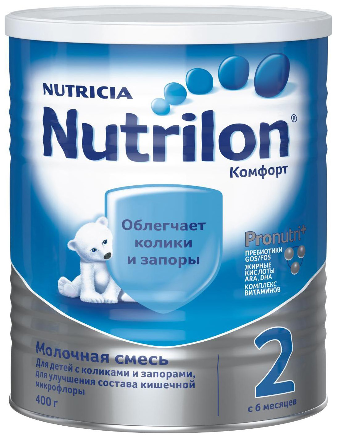 Молочная смесь Nutrilon Comfort 2 от