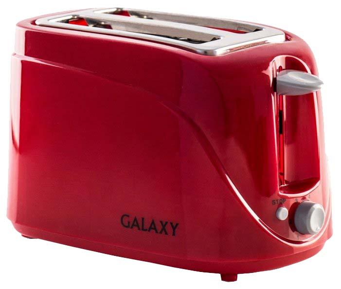 Тостер Galaxy GL 2902 Red фото