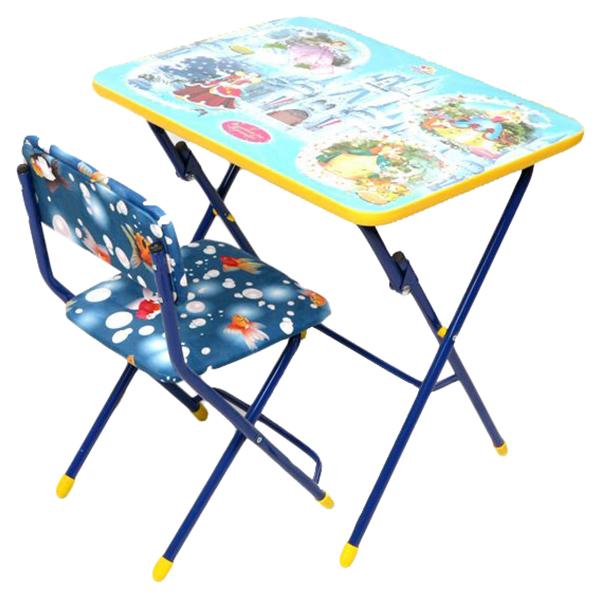 Комплект детской складной мебели Ника Волшебный мир принцесс КУ1/16 фото