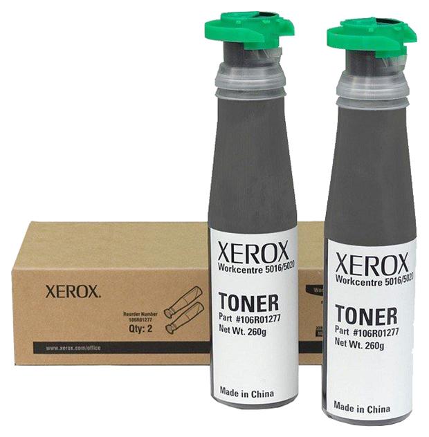 Картридж для лазерного принтера Xerox 106R01277, черный, оригинал 106R01278