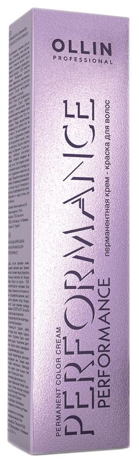 Краска для волос Ollin Professional Permanent Color 8/6 Светло-русый красный 60 мл