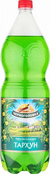 Напиток тархун Напитки из Черноголовки безалкогольный сильногазированный пластик 2 л фото