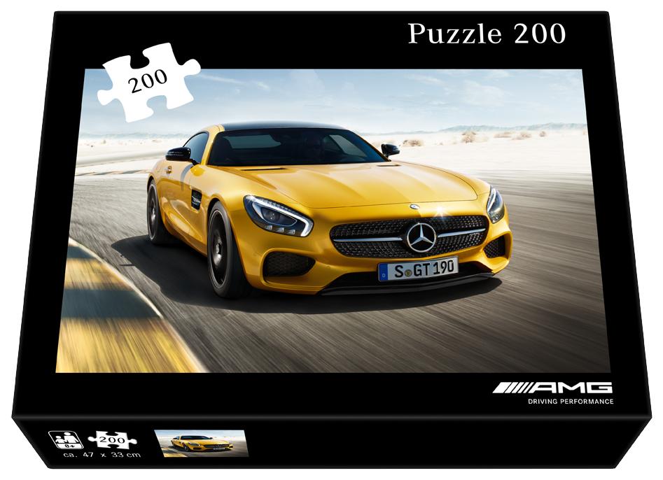 Купить Пазл Mercedes AMG GT Puzzle, 200 pieces, артикул B66952997, Mercedes-Benz, Пазлы