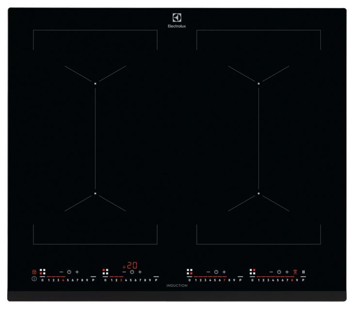 Встраиваемая варочная панель индукционная Electrolux IPE 6474