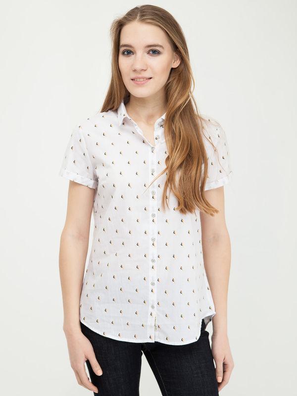 Рубашка женская Lee cooper W20009-0125 белая L OF000641414