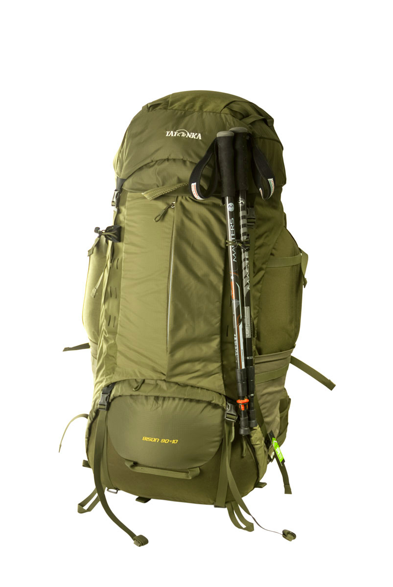 Рюкзак Tatonka Bison 90+10 зеленый 90 л