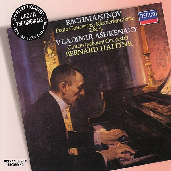 Аудио диск Ashkenazy, Vladimir Rachmaninov: Piano Concertos Nos.2 #and# 4