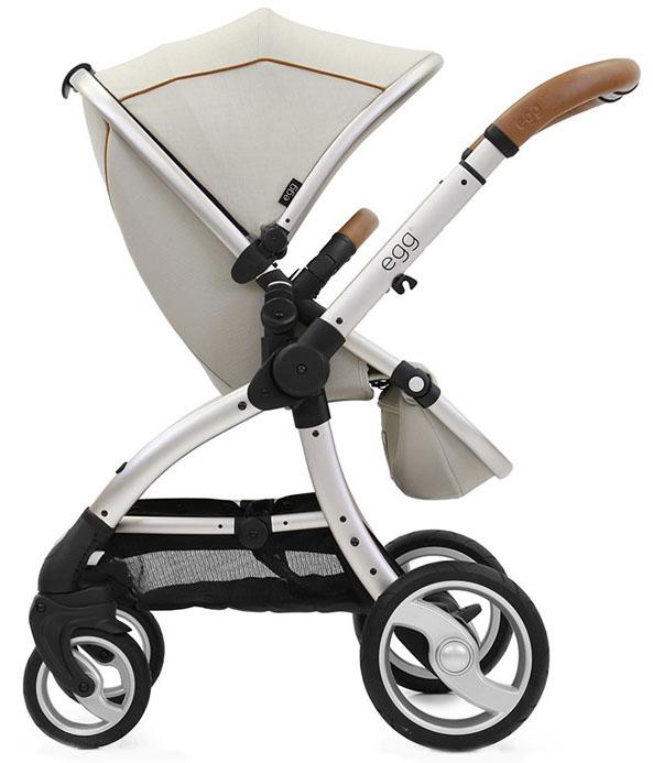 Купить Прогулочный блок для второго ребенка Egg Tandem Seat Prosecco & Champagne Chassis, Комплектующие для колясок