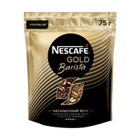 Кофе растворимый Nescafe gold barista пакет 75 г фото