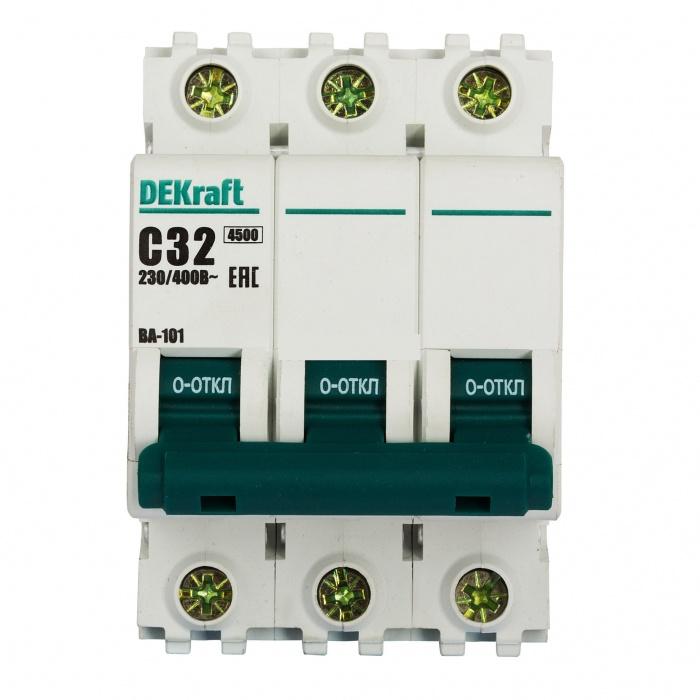 Автоматический выключатель DEKraft, арт. 11081DEK фото