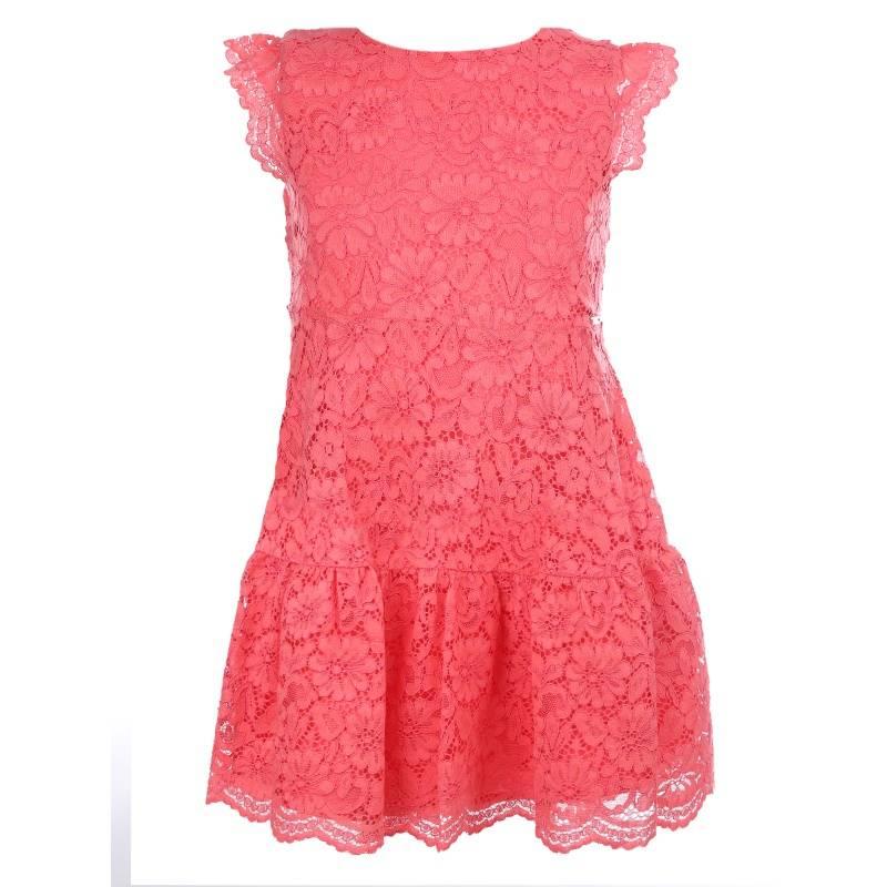 Купить Платье MAYORAL, цв. коралловый, 128 р-р, Детские платья и сарафаны