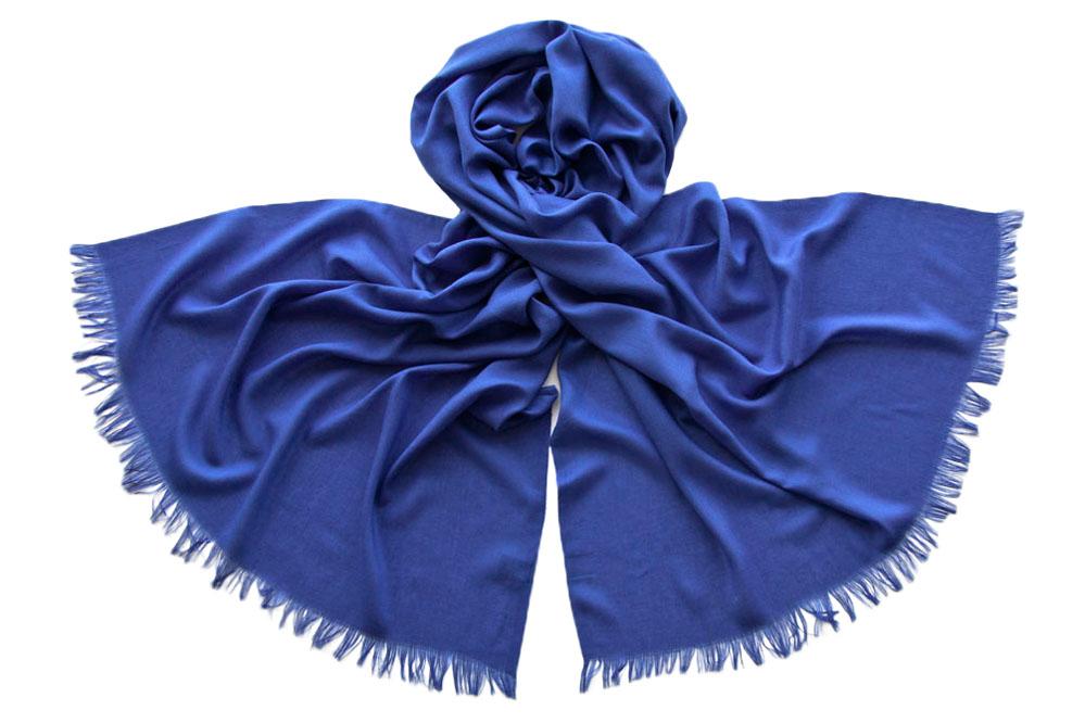 Палантин женский Tranini 1742 синий