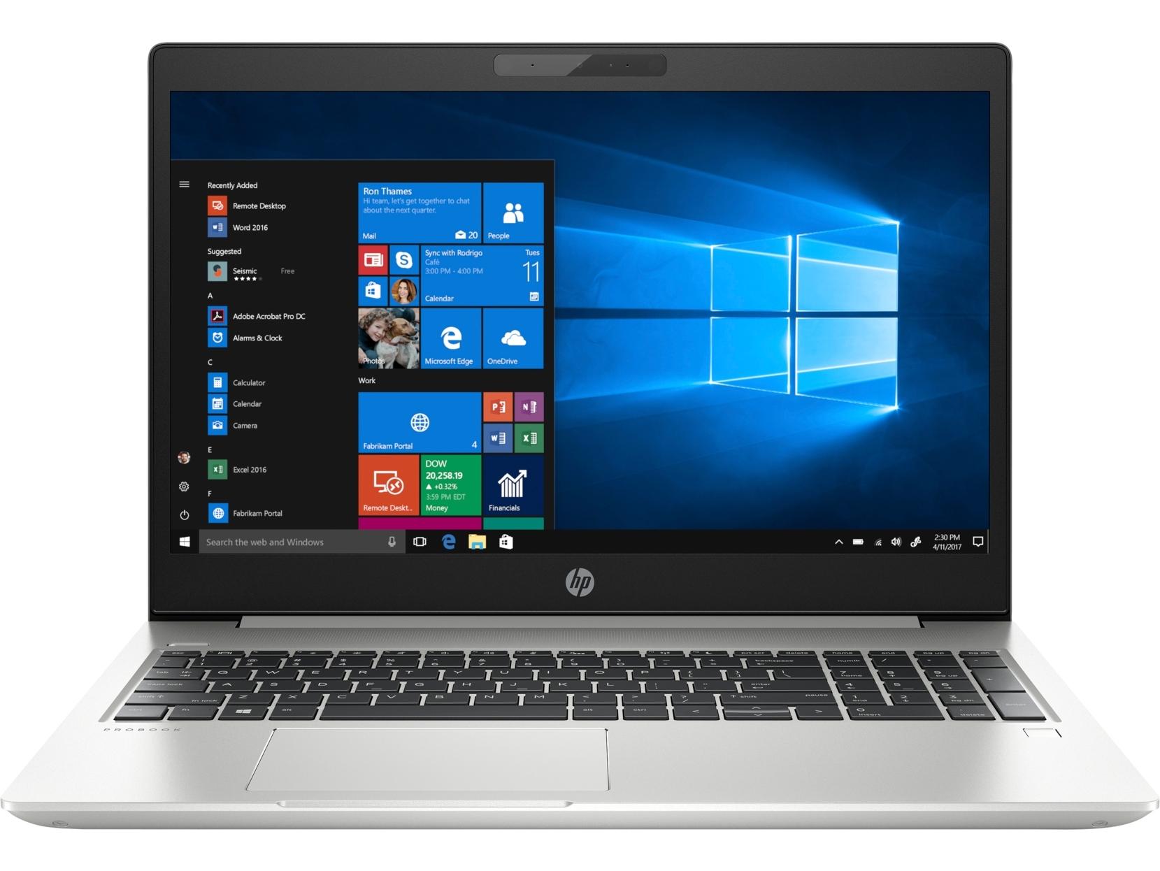 Ноутбук HP Probook 450 G6 Pike Silver Aluminum (5PP79EA)  - купить со скидкой
