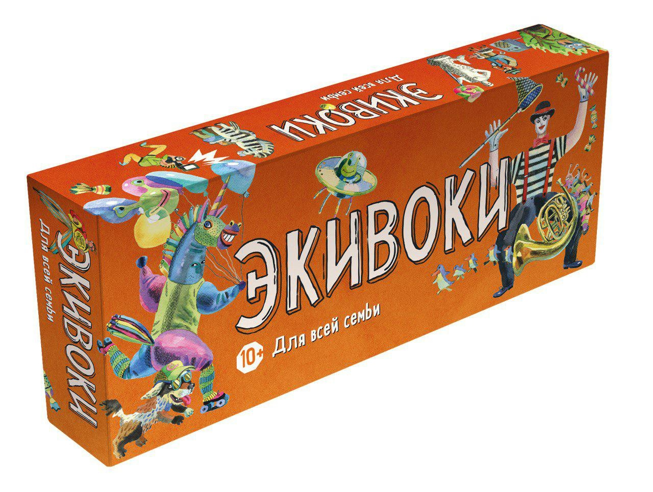 Купить Настольная игра ЭКИВОКИ 21265 Для всей семьи, Экивоки,