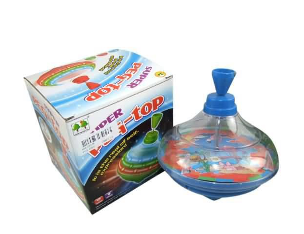 Купить Игрушка для малышей. Юла, световые и звуковые эффекты, 13.5x14x13см, Junfa toys,