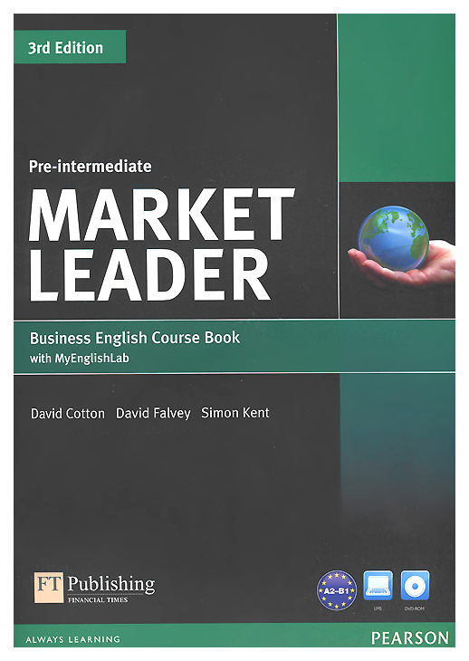 Книга Pearson «Market Leader 3rd Edition Pre-Intermediate Coursebook with DVD-ROM and M...