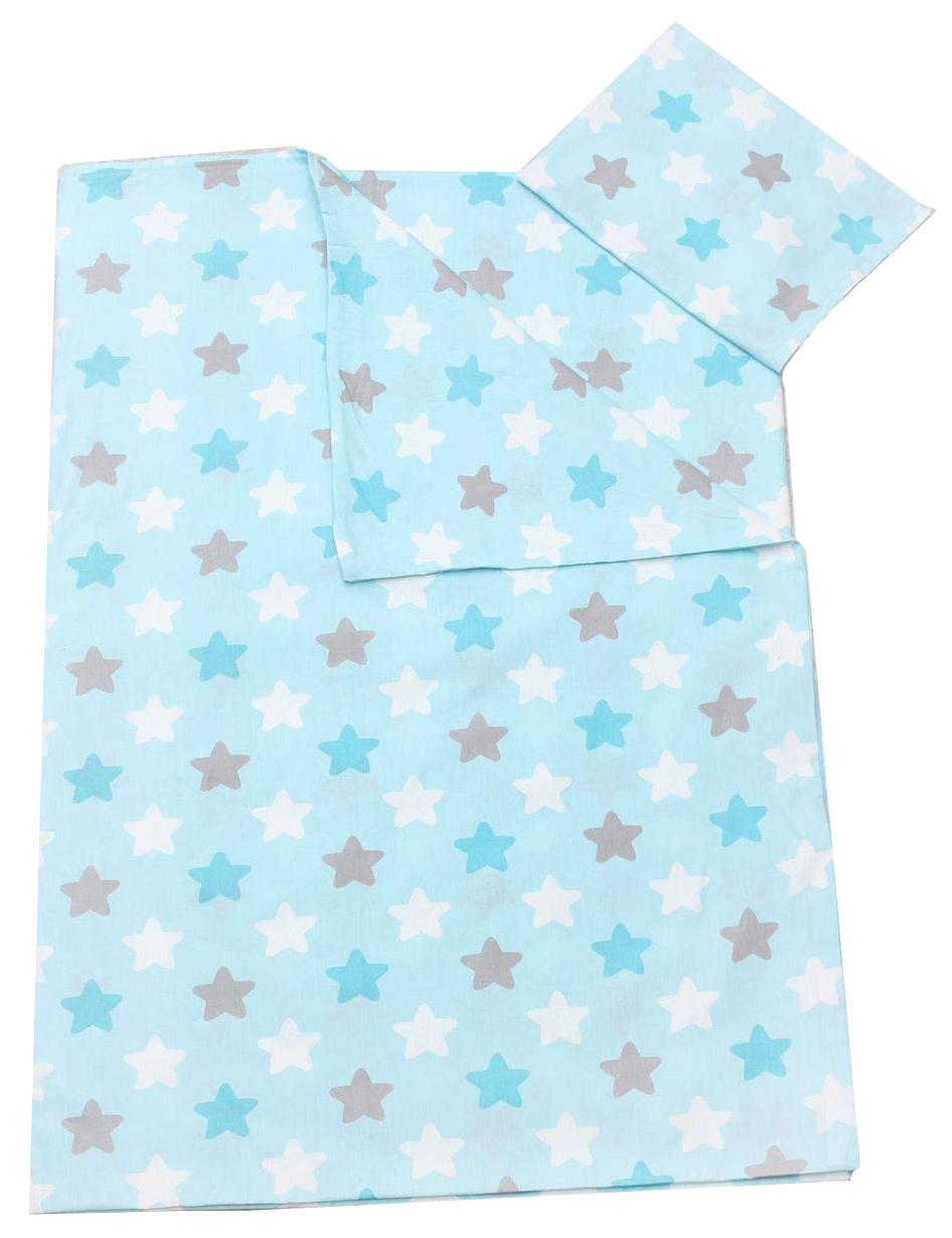 Комплект детского постельного белья AmaroBaby TIME TO SLEEP Прянички Голубой