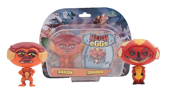 Купить Коллекция игровых фигурок Giochi Preziosi Монстры. Дракон и Монстр лагуны, Игровые наборы