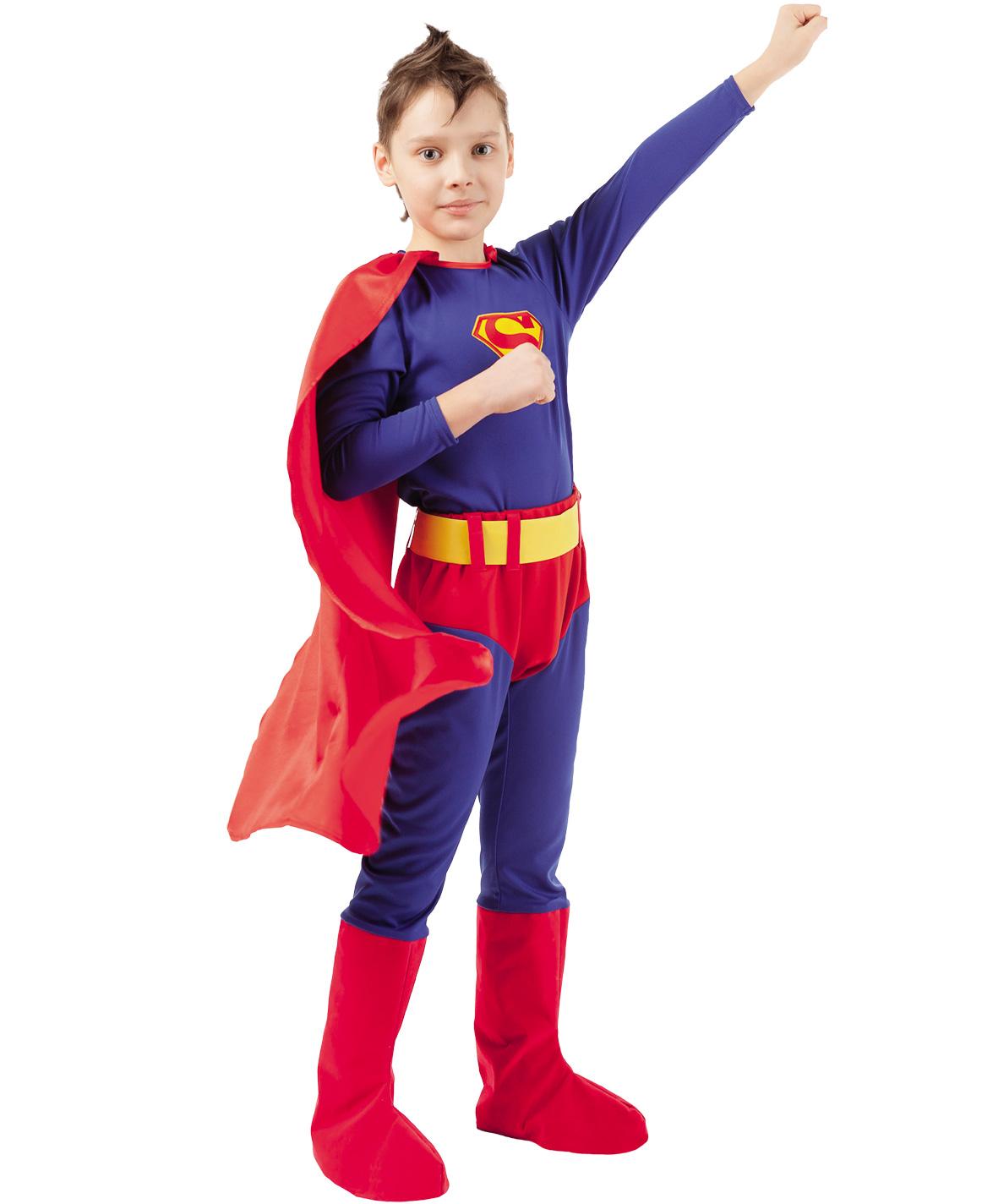 Карнавальный костюм Батик Герои DC; Супермен,