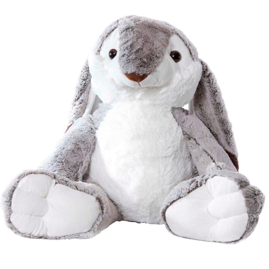 Купить Мягкая игрушка Molli Заяц длинноухий, 80 см,