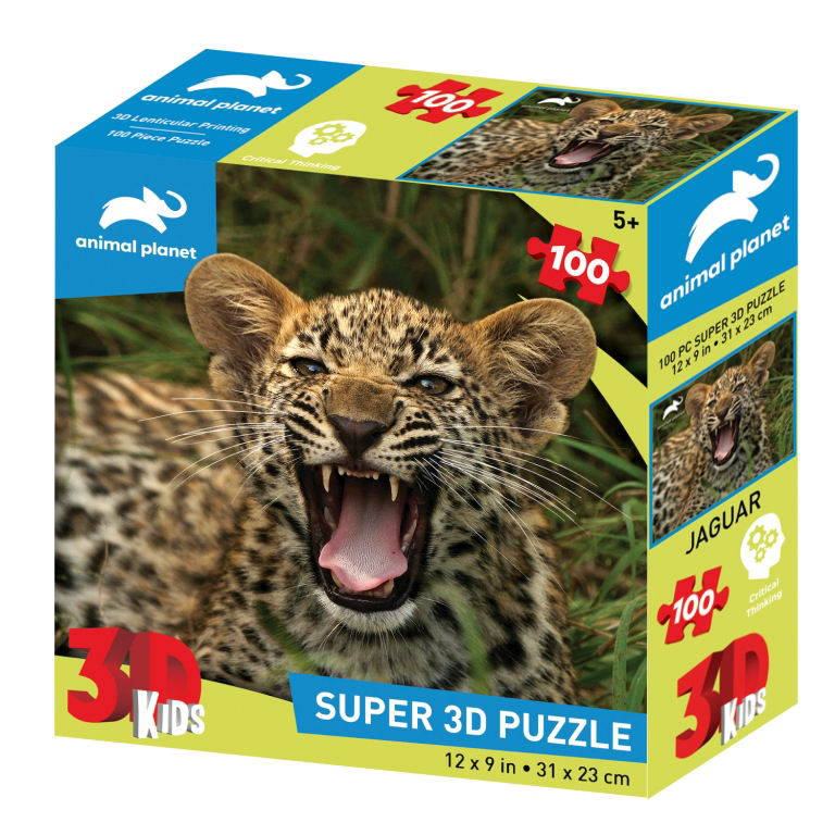Пазл 3D 100 Маленький ягуар