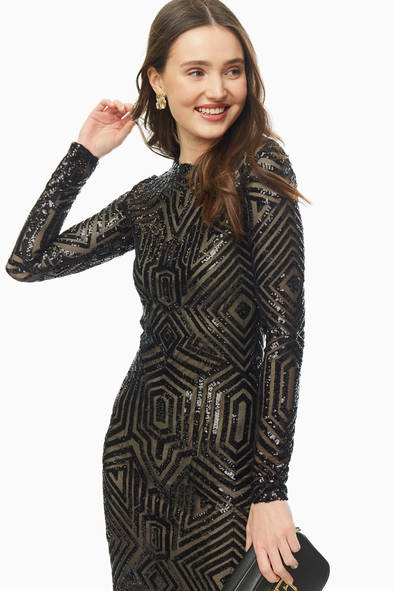 Платье женское Victoria Kuksina Пл120-19 черное 42 RU/44 RU