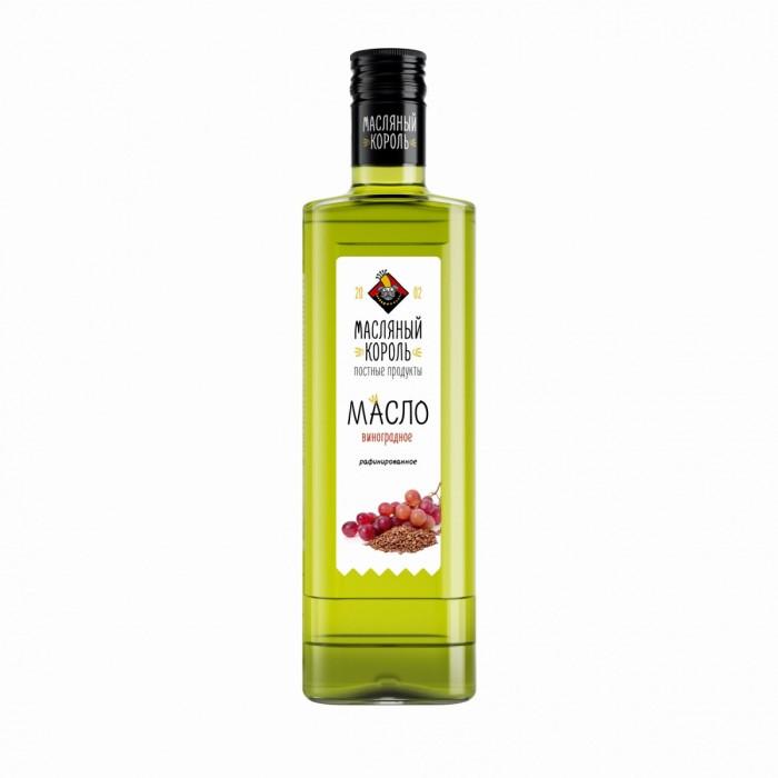 Масло виноградной косточки Масляный король 100% рафинированное 350 мл