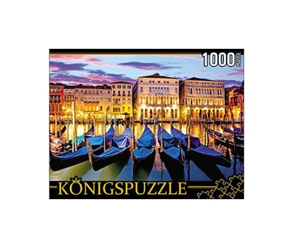 Купить Пазл Konigspuzzle Вечерняя набережная КБК1000-6497 1000 деталей, Königspuzzle, Пазлы