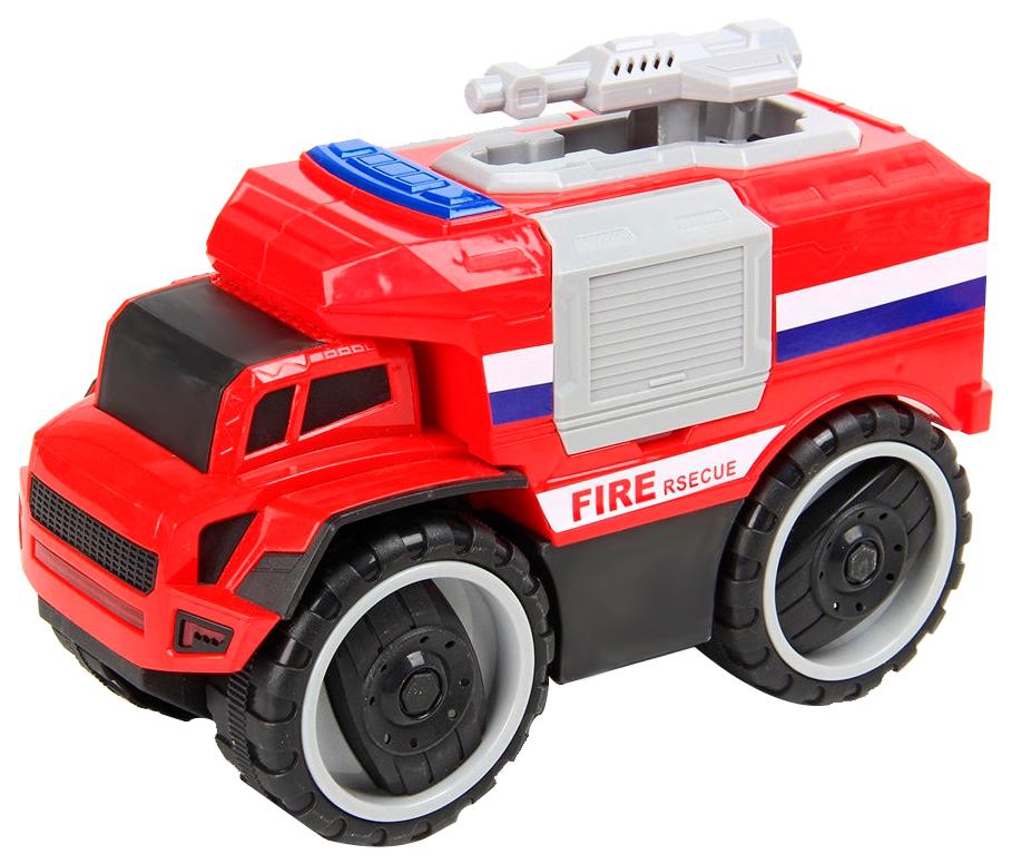 Купить Машина инерционная НашаИгрушка Пожарная со световыми и звуковыми эффектами, Наша игрушка, Спецслужбы