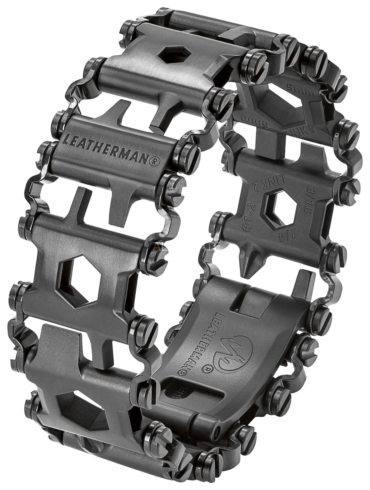 Браслет-мультитул Leatherman Tread 832324 160 мм черный, 29 функций