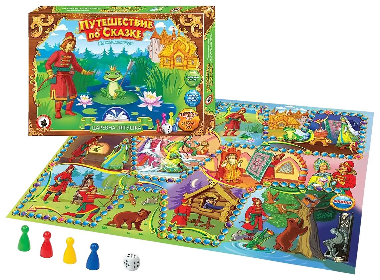 Купить Семейная настольная игра Русский Стиль 03044 Царевна лягушка, Русский стиль, Семейные настольные игры