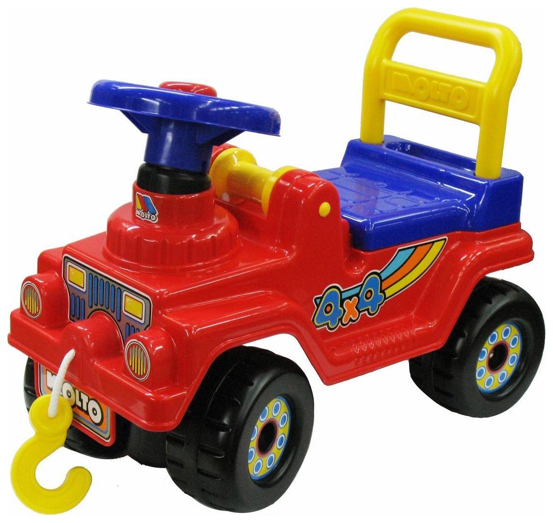 Купить Машина-каталка Полесье Джип 4х4 62796 Красный, Машинки каталки