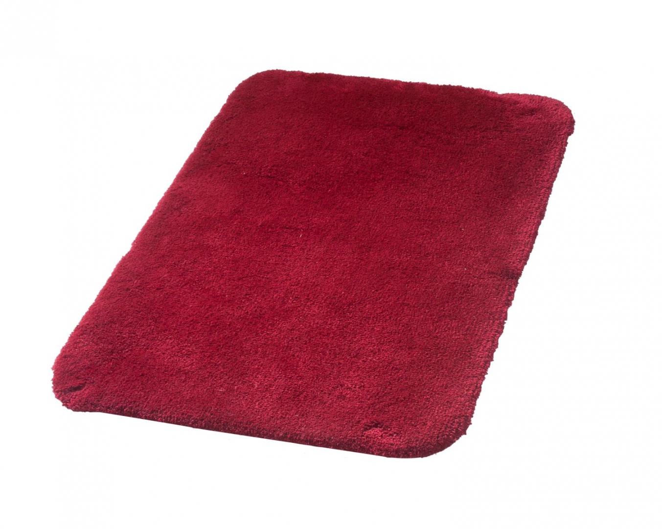 Коврик для ванной комнаты Istanbul красный 60*90