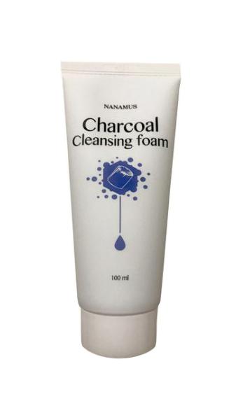 Пенка для умывания Nanamus Charcoal Foam Cleansing 100 мл