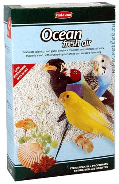 Наполнитель в клетку для птиц Padovan Ocean