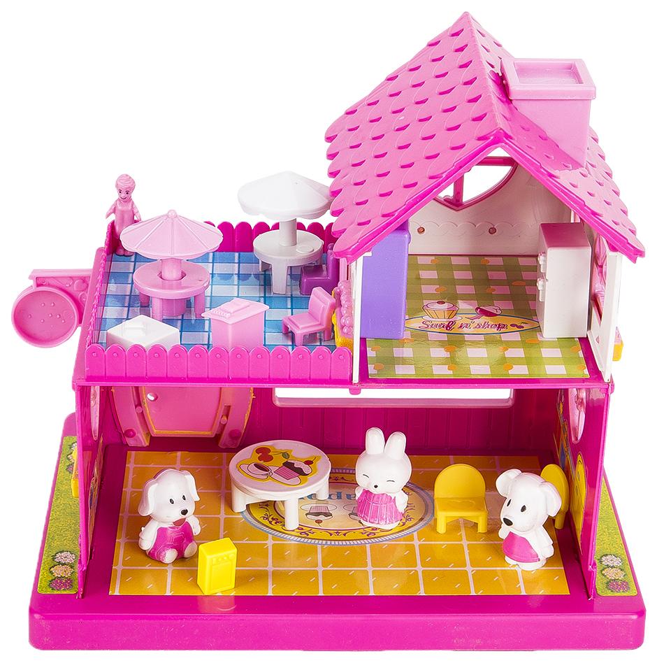 Кукольные домики Игруша Happy hours Cool Cafe I32562