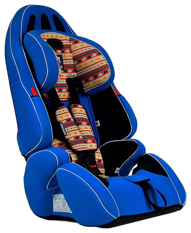 Автокресло детское Farfello GE-G Blue+Colorful
