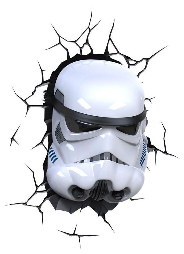 Светильник 3DLightFX Star Wars Storm Trooper фото