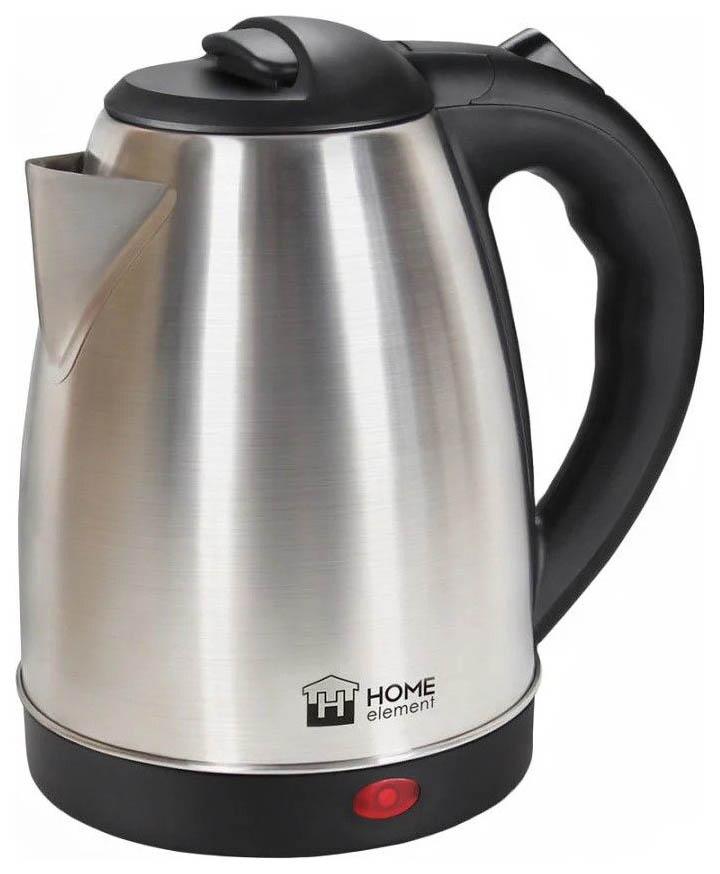 Чайник электрический Home Element HE KT183 Black/Silver